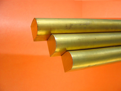 Shaped brass rod